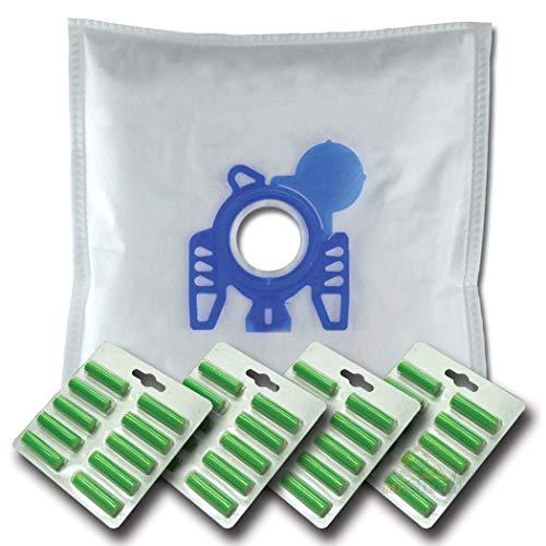 40 x Mr.Clean Staubsaugerbeutel + 40 Duftstäbe geeignet für Hoover Sensory TS 1401 1406