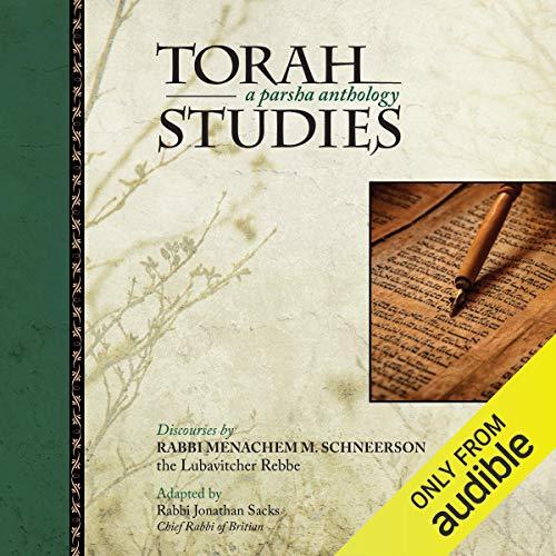 Torah Studies: A Parsha Anthology audiobook cover art