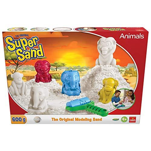Goliath - Super Sand Animals - Loisir créatif - à partir de 4 ans - Jeu de sable à modeler