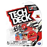 Mini Fingerboards TD World Edition Limited Series Toy Machine Skateboards Ultra Rare Red Vice Monster Stars & Stripes Complete Deck