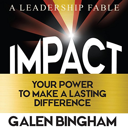 Impact: A Leadership Fable audiobook cover art