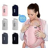 Makimaja - Portabebés rosa - portabebés de alta calidad para recién nacidos y...