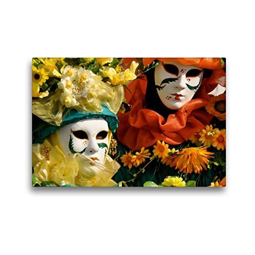 CALVENDO Premium Textil-Leinwand 45 x 30 cm Quer-Format März, Leinwanddruck von Elisabeth Stephan