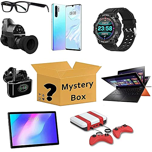 GDICONIC Scatola cieca My-stery Boxes,L-uc-ky Box,My-stery Electronic B-lind Box,Super Costeffective,Random Style,Playing is Heartbeat,Excellent Value for Money,First Come First Served,Give Yourself A