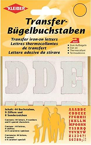 Kleiber + Co.GmbH Transfer-Bügel-Buchstaben, ca. 3,5 cm