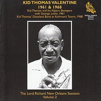 Kid Thomas Valentine 1961 & 1968