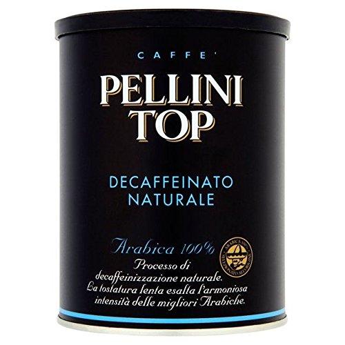 Pellini Top 100% Arabica Macinato Decaffeinato Caffè 250G
