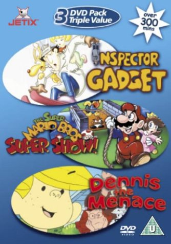 Inspector Gadget / Dennis The Menace / Super Mario Bros Super Show