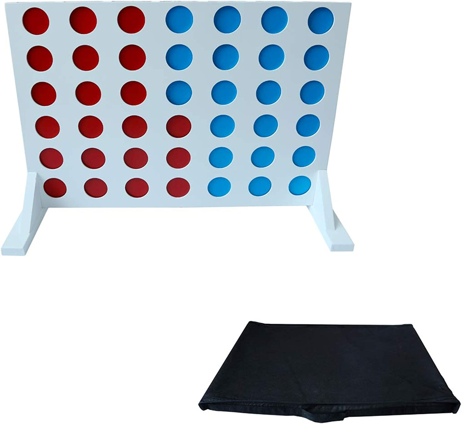 Trademark Innovations Giant Outdoor 4 in A Row Game for Backyard