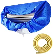 Air Conditioning Cover Washing Wall Mounted Air Conditioner Cleaning Protective Dust Cover Clean Tool Tightening Belt For ...