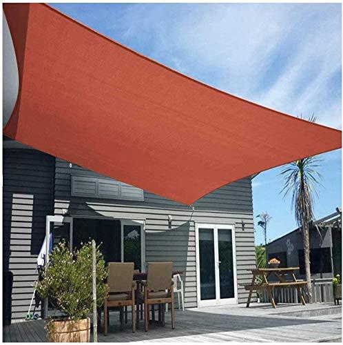 Lanxing Toldo Vela Rectangular Toldo Protector Solar jardín balcón y