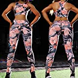 ArcherWlh Yoga Pantalones Mujer,New Leggings Sports STOR Yoga Ropa DE Ropa DE Ropa DE Daffodil Hips Pantalla DE Yoga-Polvo Naranja_SG