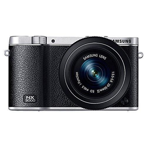 Samsung EV-NX3000BEIUS Wireless Smart 20.3MP Compact System Camera