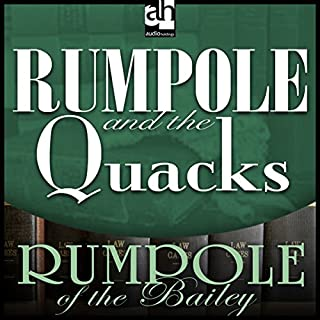Rumpole and the Quacks audiobook cover art