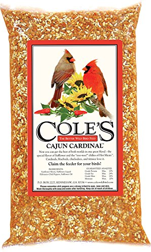 Cole's CB10 Cajun Cardinal Blend Bird Seed, 10-Pound