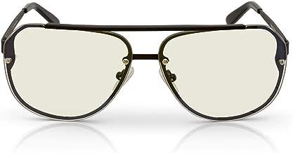 TrueDark Daywalker Transition Blue Light Blocking Aviator Sunglasses - Protect Your Eyes from Harmful Junk Light