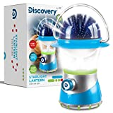 DISCOVERY KIDS 2-in-1 4X LED Starlight Lantern and Star Projector, Indoor Use, 2 Modes: Lantern and Projector, Easy to Use for Children, Battery Operated, Perfect Gift for Camping - BLUE/WHITE/GREEN