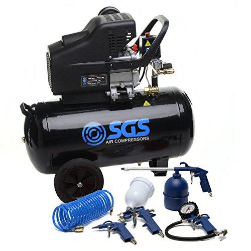 SGS ingénierie Compresseur d'air 50litre–9.6CFM, 115PSI, 50L Company basé au...
