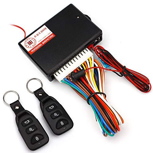 Style7 - Kit de cerradura universal para puerta de coche con caja de Contorl + 2 mandos a distancia...