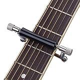 BE-STRONG Cejilla para Guitarra Deslizante Cejilla para Guitarra Cejilla Original Cejilla para Guitarra De Instrumento Cejilla De Metal para Afinar Instrumentos De Cuerda