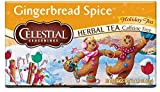 Celestial Seasonings Herbal Tea, Gingerbread Spice, 20 Count, Pack of 6