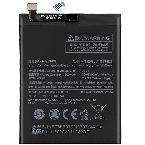 新品MI携帯電話用バッテリー XIAOMI BM3B内蔵バッテリーFor Xiaomi MIX2 MI MIX 2 BM3B交換用のバッテリー 電池互換3400mAh/13.1Wh 3.85V