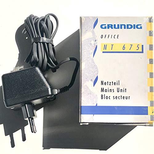 Grundig Netzteil NT 675 für Stenorette Diktiergerät DT 3200-3221 ST