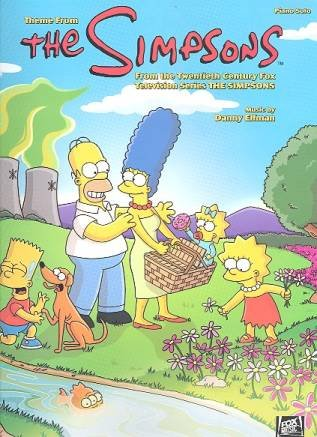 Theme from The Simpsons: for piano