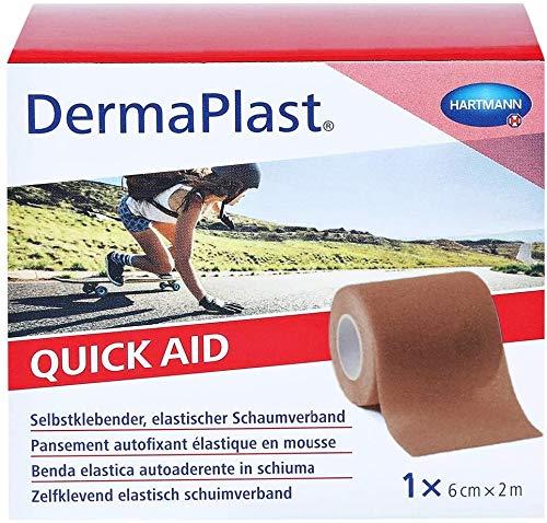 Dermaplast Quick Aid Schuimverb. 6 cm x 2 m huidskleur 1 stuk