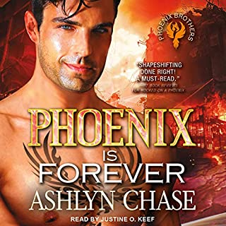 A Phoenix Is Forever audiobook cover art