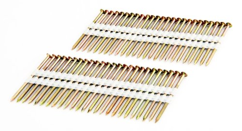 """Freeman FR.113-238GRS 21 Degree .113"""" x 2-3/8"""" Ring Shank Full Round Head Plastic Collated Galvanized Framing Nails (2000 count) Rust and Corrosion Resistant for PFR2190 and SFR2190"""