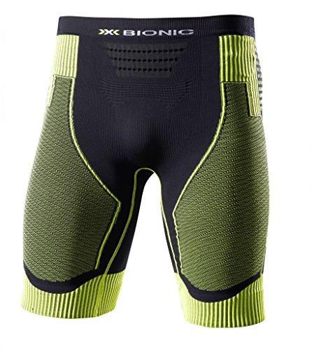 X-BIONIC Short de Course pour Homme Noir Taille S
