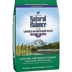 Natural Balance LID Limited Ingredient Dog Food