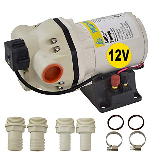 AdBlue 12V Urea Bomba Tanking Set Membrana Bomba Química Autocebante Potente Motor Eléctrico con Bobina de Cobre