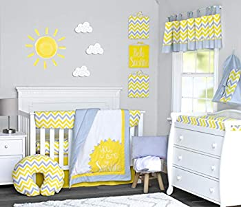 yellow nursery bedding