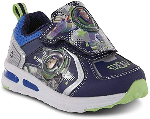 Toddler Boys' Toy Story Buzz Lightyear Light-Up Sneaker Shoes