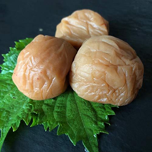 梅干しのある食卓には梅人の愛がある 長期保存も可能な無添加減塩仕込みの白加賀梅干し 常備梅800g