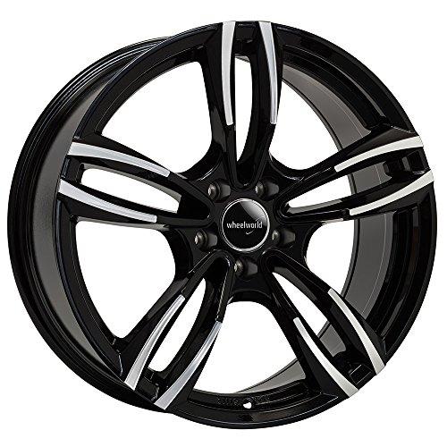 Wheelworld WH29 SP+ Jante en aluminium poli brillant Noir 8,5 x 19 ET35 5 x 120 cm
