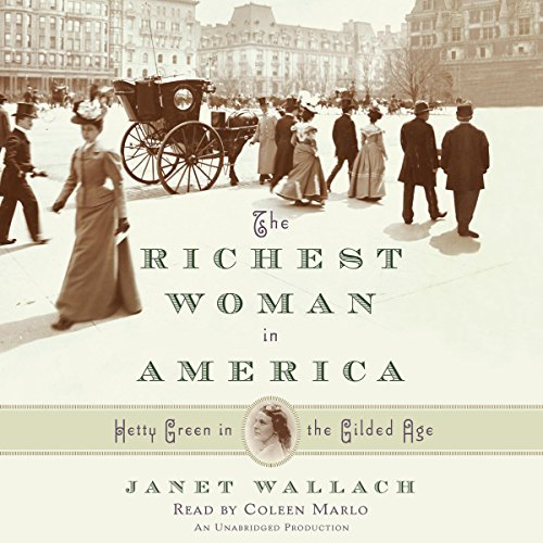 Couverture de The Richest Woman in America