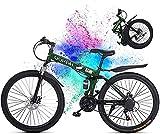 Best Foldable Bikes - CatNonu 26in Folding Mountain Bike for Men, 21-Speed Review
