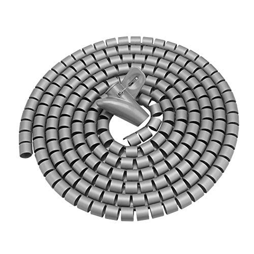 Cable Tidy Wrap, 1.5m / 3m Longitud Espiral Wrap Cable Espiral Cable...