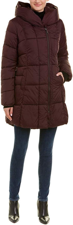 Sam Edelman Womens Pillow Collar Puffer Jacket