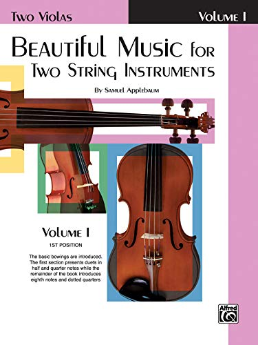 Beautiful Music for Two String Instruments, Bk 1: 2 Violas