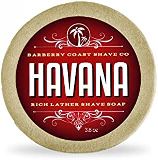 Havana Shave Soap for Men - Rich, Slick & Thick Lather - High-Performance
