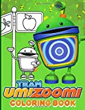 Team Umizoomi Coloring Book: Team Umizoomi Crayola Relaxation Adult Coloring Books For Women And Men! With Crayons