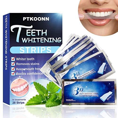Blanqueamiento de dientes tiras con avanzada tecnología antideslizante - 28 Whitening Strips