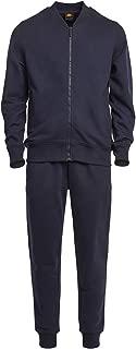 Men's Classic Sportswear Full Zip Up All-Purpose Bomber Jacket and Sweatpants Set