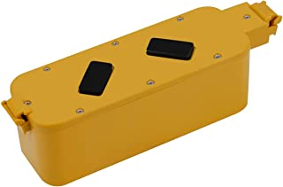 Creabest New 3500mAh Ni-MH Replacement for iRobot Roomba 14.4V Battery 400 Series 11700 17373 400 405 410 415 440 4000 4100 4102 4110 4130 4150 4210 4220 4230 4260 4270 4290 4300 4310 4905 11700 17373