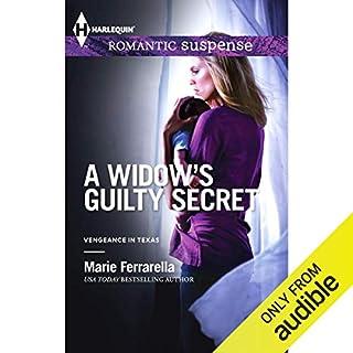 A Widow's Guilty Secret audiobook cover art