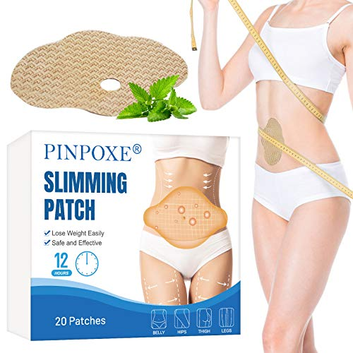 Slimming Patch, Fettverbrennung Slim Patch, Abnehmen Patch, Tighten Slimming Patches, Anti Cellulite & Fat Burning Quick für Bierbauch, Eimer Taille, Bauchfett Taille,20 Stück